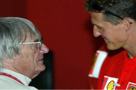 Bernie Ecclestone traut Michael Schumacher seinen achten WM-Titel zu