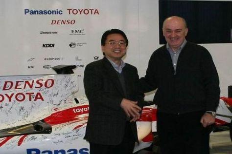 Der Vertrag zwischen Toyota und Zoran Stefanovic wurde bereits unterschrieben