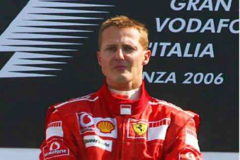 """2006 hat """"Schumi"""" sein letztes Heimrennen für Ferrari in Monza bestritten"""