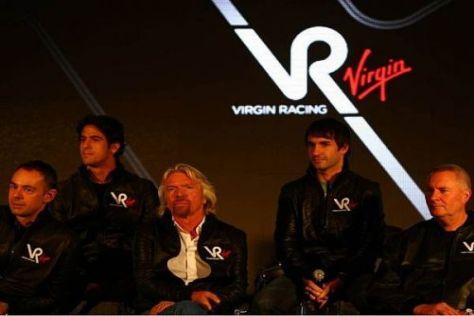 Abenteuer Formel 1: Sir Richard Branson und sein neues Virgin-Team