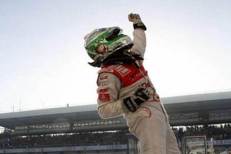 Grenzenlose Jubel: Timo Scheider nach seinem zweiten Titelgewinn