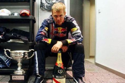 Sebastian Vettel will 2010 noch mehr Champagnerflaschen sammeln