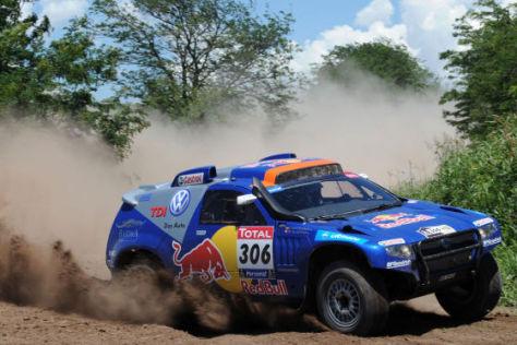 Dakar 2010: Nassar Al-Attiyah setzt sich an die Spitze