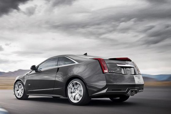 Cadillac CTS-V Coupé (2011)