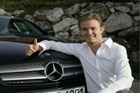Nico Rosberg hofft auf eine Saison 2010 unter einem guten Stern
