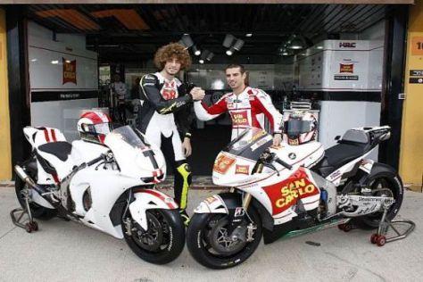 Marco Simoncelli will es in der MotoGP ruhig angehen lassen und langsam lernen