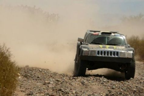 Dakar 2010: Robby Gordon/Andy Grider auf Hummer