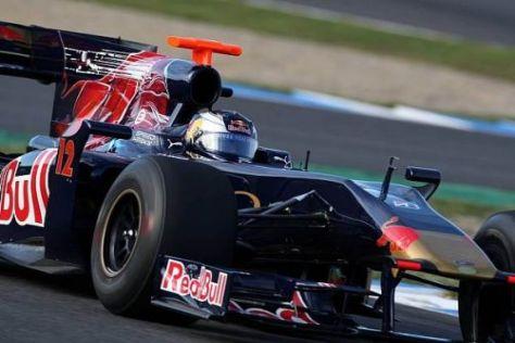 Bei den Young-Driver-Days von Jerez saß Mirko Bortolotti probeweise im STR 4
