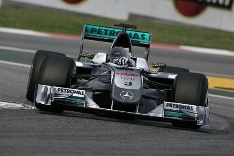 So könnte der erste Formel-1-Silberpfeil seit 1955 in diesem Jahr ins Rennen gehen