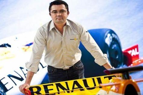 Eric Boullier möchte dem Renault-Team das Selbstvertrauen zurückgeben
