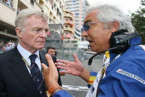 Flavio Briatore sieht in Ex-FIA-Präsident Max Mosley den Urheber seines Übels