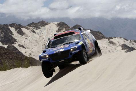 Dakar 2010: Miller/Pitchford auf VW Race Touareg 2