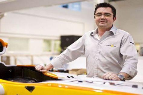 Ob Eric Boullier das zweite Cockpit einem französischem Fahrer anbietet, ist fraglich
