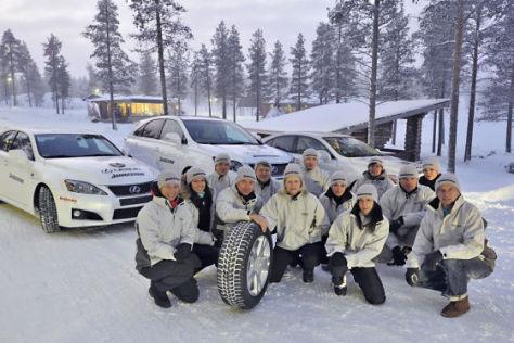 Alle Premieren-Tester in Lappland