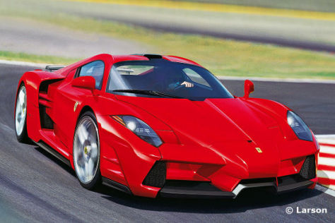 Supersportler Ferrari Enzo
