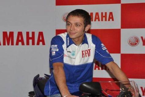 Valentino Rossi rührte in Indien die Werbetrommel für Yamaha