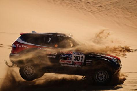 Dakar 2010: Peterhansel/Cottret gewinnen die achte Etappe