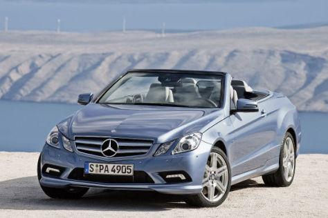 Preise Mercedes E-Klasse Cabrio