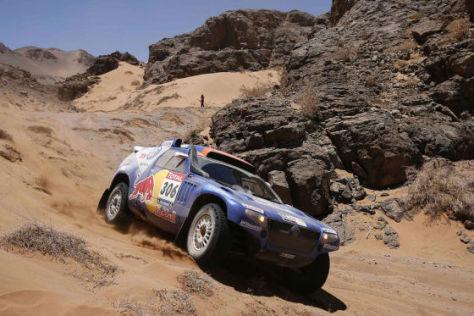 Dakar 2010: Nasser Al-Attiyah setzt Carlos Sainz unter Druck