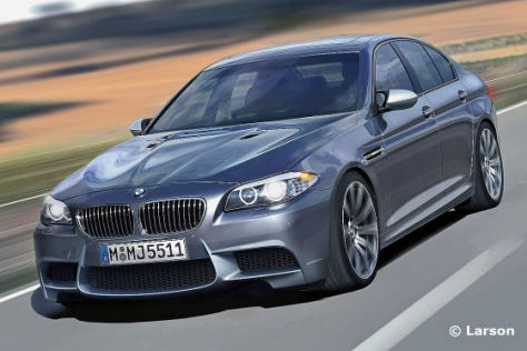 BMW M5 (2011) Illustration