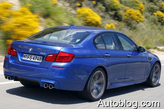 BMW M5 (2011) Illustration