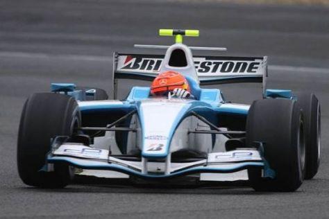 Schumacher hat den Verantwortlichen der GP2 wichtiges Feedback gegeben