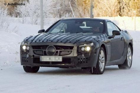 Erlkönig Mercedes SL-Klasse