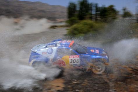 Halten die Dakar 2010 spannend: Nasser Al-Attiyah knöpfen Sainz/Cruz mächtig Zeit ab
