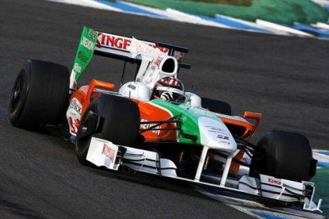 Amerikanischer Rookie: Im Dezember durfte J. R. Hildebrand in Jerez testen
