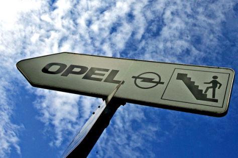 Opel Werk in Rüsselsheim