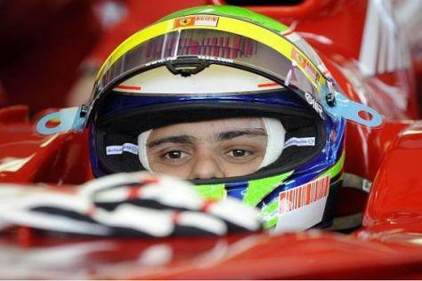 Zurück im Cockpit: Felipe Massa dreht am Freitag in Barcelona seine Runden