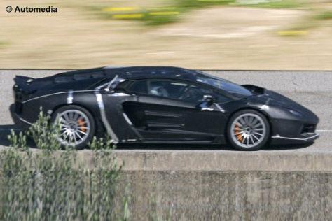 Erlkönig Lamborghini Jota Murcielago