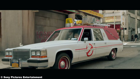 "Ghostbusters-Cadillac ""ECTO-1"""