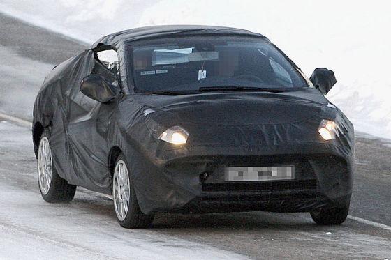 Erlkönig Renault Twingo CC