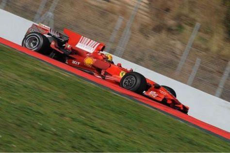 Valentino Rossi hinterließ am Donnerstag in Barcelona einen starken Eindruck