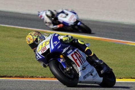 Valentino Rossi will für Yamaha auch 2010 wieder um den Titel fahren