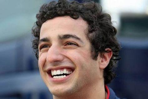 Freude auf die neue Aiufgabe: Daniel Ricciardo ist offizieller Testpilot