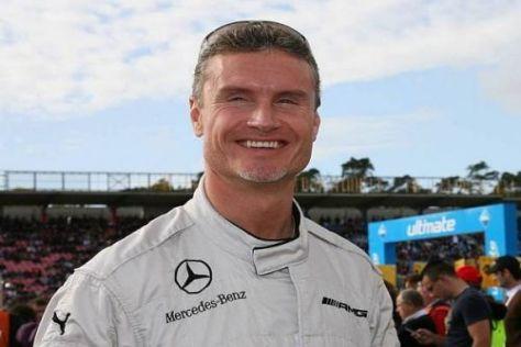 David Coulthard wird bald eine Mercedes-C-Klasse testen: Einstieg in die DTM?