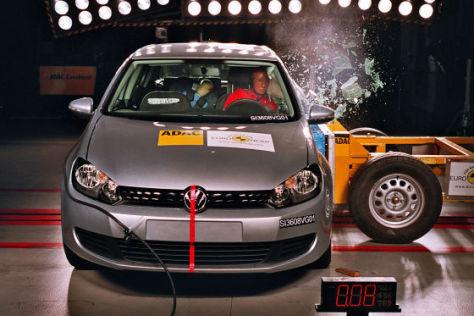 Euro NCAP-Crashtest VW Golf