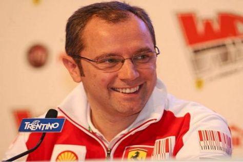 Ferrari-Teamchef Stefano Domenicali ist guter Dinge, 2010 erfolgreich zu sein