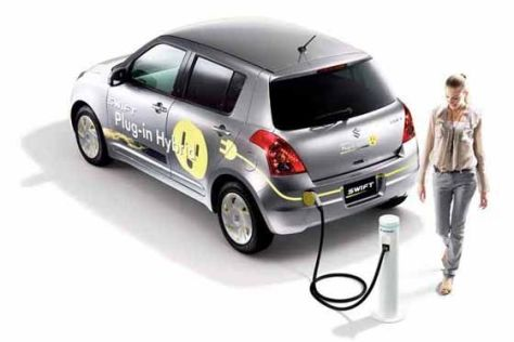 Suzuki Swift Plug-in-Hybrid