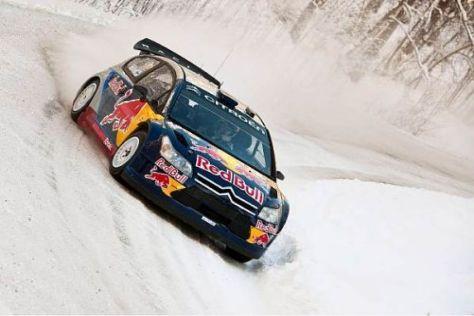 Kimi Räikkönen ist bei der Lappland-Rallye bereits ausgeschieden
