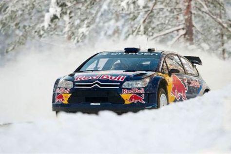 Kimi Räikkönen sammelte bei der Lappland-Rallye wertvolle Erfahrungen