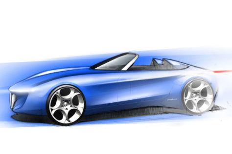Pininfarina Alfa Romeo Spider Concept