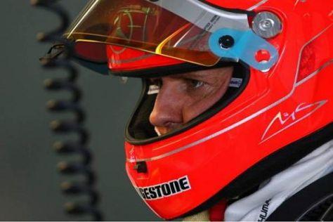 Michael Schumacher fühlte sich im MGP W01 auf Anhieb recht wohl