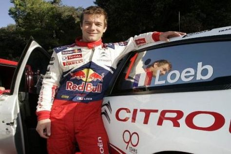 Plan für 2010: Sébastien Loeb soll erneut mit sieben Siegen zum Titel fahren