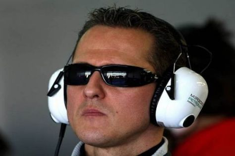 Michael Schumacher nimmt die giftigen Äußerungen gelassen zur Kenntnis