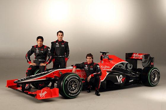 Präsentation Virgin Racing