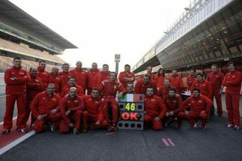 MotoGP-Star Valentino Rossi wäre bei Ferrari jederzeit herzlich willkommen