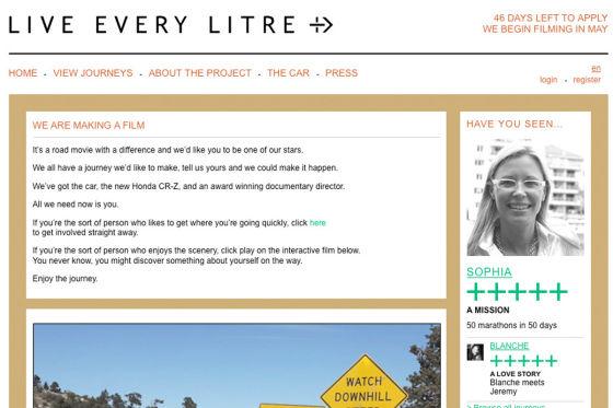 Live Every Litre-Website